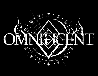 Omnificent - Cosmic, Futuristic Metal Band Logo Design, Emblem