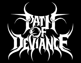 Path Of Deviance - Custom Metal Band Logo Design by Request