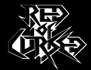 Thrash Metal Band Graphic Design - Red of Cursed