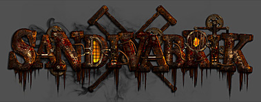 Sandivabrik - Steampunk, Horror Logo Design for Estonian Metal Magazine Plakk
