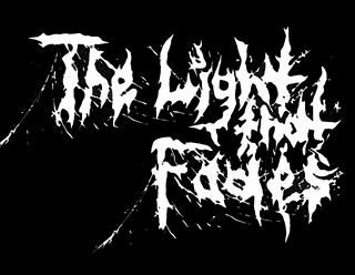 Ambient Raw Depressive Black Metal Band Logo Design - The Light That Fades