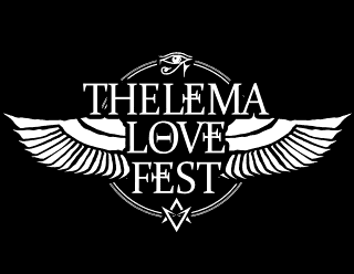 Thelema Love Fest - Dark Gothic Metal Band Logo Design