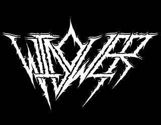 Widower - Thrash Death Metal Band Logo Design