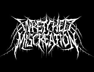 Wretched Miscreation - Death Metal Custom Band Logo Design