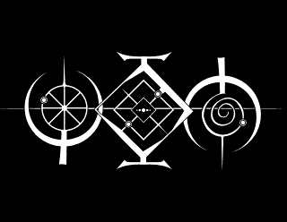Ylem - Doom Metal Band Logo Design, Styled as ancient Symbol