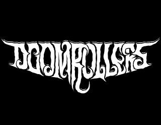 Doomrollers - Sludge Doom Metal Band Logo Design
