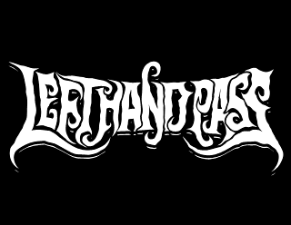 Left Hand Pass - Doom Metal Band Logo Design
