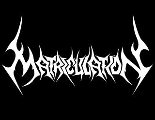 90s Death Metal Band Logo Graphic Design - Matriculation