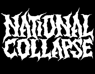 National Collapse - American Brutal Death Metal Band Logo Design by ModBlackmoon
