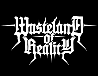 Wasteland of Reality, Classic, Spiked Metal Band Logo Design