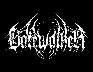 Gatewalker Modern Black Metal Band Logo Design