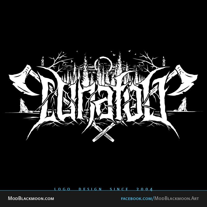Tattoo black metal font Best Death