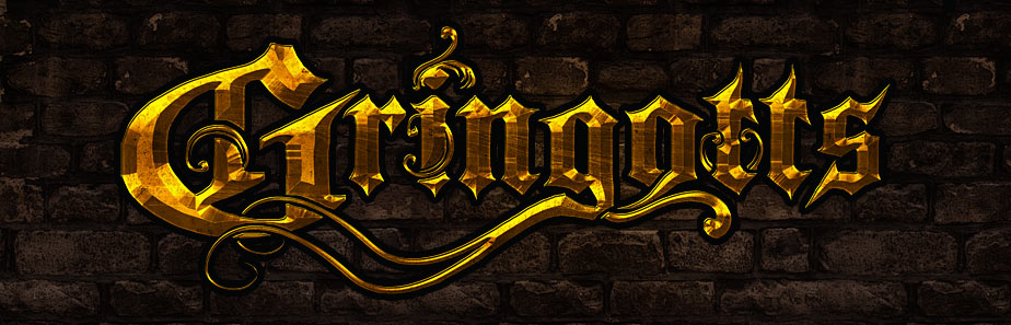 Golden Epic Power Metal Band Logo Design