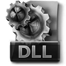 DLL, System Configuration File Dark Hi-Tech Icon 256px PNG free for Web-Design