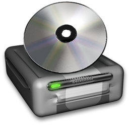 Drive, Storage, HDD, CD, DVD Data, Disc 3D transparent Icon for Web-Design PNG 256px