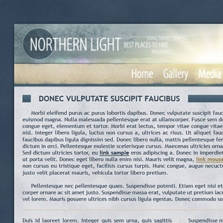 Northern Light, Snow White, Travelling Guide Design by ModBlackmoon