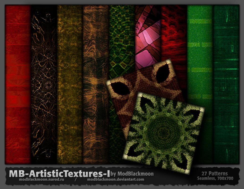 ModBlackmoon's Artistic Photoshop Brushes & Dark Grunge Textures